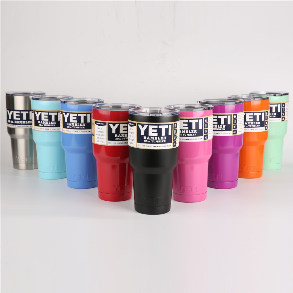 <font><b>YETI</b></font> <font><b>Tumbler</b></font> <font><b>Rambler</b></font> <font><b>Cups</b></font> <font><b>30</b></font> <font><b>oz</b></font> <font><b>YETI</b></font> <font><b>20</b></font> <font><b>oz</b></font> <font><b>Tumbler</b></font> Vacuum Insulated Vehicle Coffee Beer Mug <font><b>Cups</b></font>