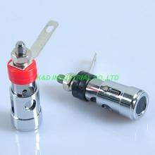 цена на 5Pairs Combine Binding Post 3026 Amplifier Terminal Banana Plug Jack Red + Black