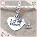 New Collection High Quality 925 Solid Silver Cupid's Arrow Charm Fitting European Famous Bracelet