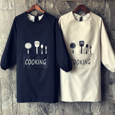 Factory cat dog bath clothes pet shop clothes beautician work clothes anti hair waterproof apron in Aprons from Novelty Special Use
