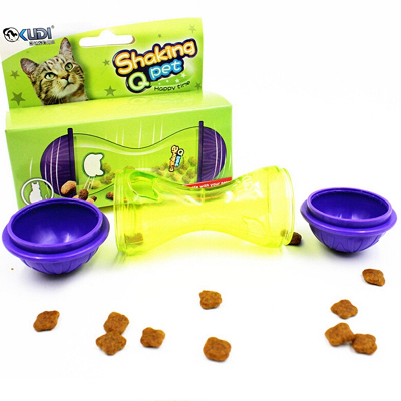 Innovative Pet Products Tumbler Automatic Feeders Pet Toy Cat Dog Training Exercise Toy Leaking Feeder