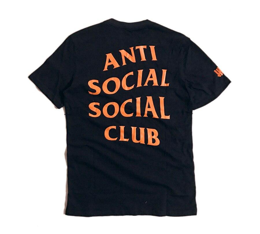 6dbcfae54d68 ANTI SOCIAL SOCIAL CLUB T Shirt 1 1 Men Women Paranoid Undefeated Summer  ASSC T shirt Top Tees ANTI SOCIAL SOCIAL CLUB T Shirt-in T-Shirts from  Men s ...