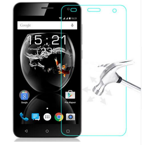 2.5D 0.3mm tempered glass For <font><b>Fly</b></font> Cirrus 2 <font><b>FS</b></font> <font><b>504</b></font> screen protector guard film front case cover +clean kits image