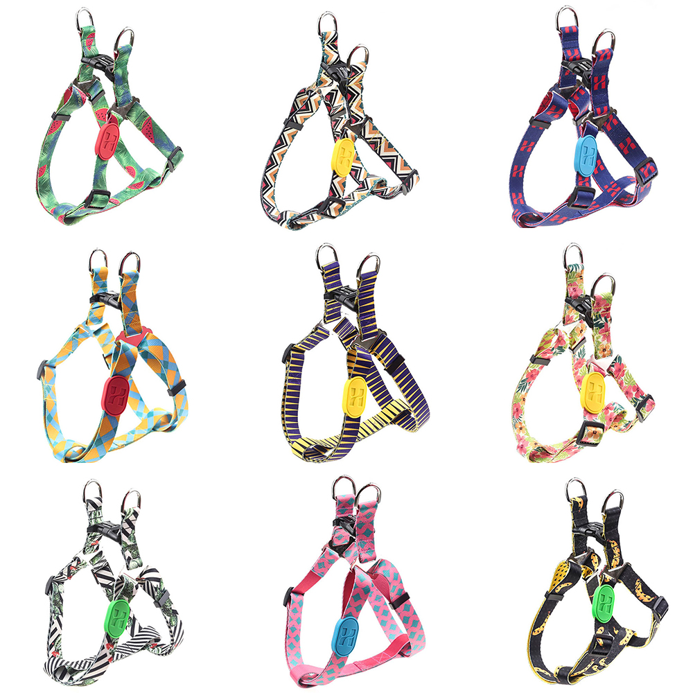 Dog Harness Pet Products Nylon Large pet Dog Harness All Weather Service Dog Ves Adjustable Safety Vehicular Lead For Dogs Pet in Harnesses from Home Garden