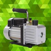 Single Stage 2.5CFM 1/4HP Pump oil Vacuum Pump Rotary Vane Deep HVAC Tool Air AC R410a R134 Refrigeration