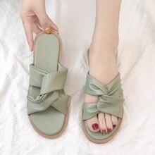 купить Summer Women Slides Fashion Women Slippers Sandals Soft Soles Outdoor Slippers Beach Flip Flops Shoes Woman Outside Flat Slides по цене 1319.92 рублей