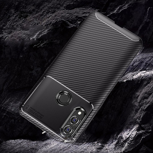 Image 3 - For Honor 10 lite Case Carbon Fiber Cover 360 Shockproof Silicon Phone Case on for Huawei P Smart 2019/Honor10 Lite Cover Bumper
