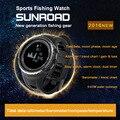 SUNROAD 5ATM Спортивные Часы Открытый Восхождение Луны График Приливные Данных Рыбалка Часы Высотомер Барометр Компас Прогноз Погоды