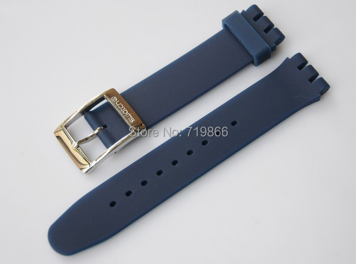 b81273123 Navy Blue Watch Band 18mm 20mm 22mm 24mm Replacement Rubber Strap Loop /  Holder / Locker / keeper FIts All Watches Luxury Brand on Aliexpress.com |  Alibaba ...