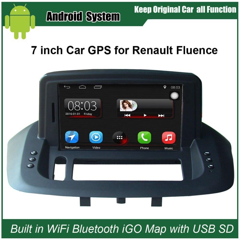 Android 7,1 обновленный оригинальный автомобильный Радио плеер костюм для Renault Fluence автомобильный видео плеер встроенный Wi-Fi gps навигация Bluetooth