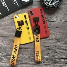 Street Hip Hop Strap Phone Case iPhone 5 5s se 6 6s 6plus 7 7plus 8 8plus X
