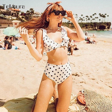 High Waist Bikini Women Swimwear MT