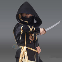 Hot Sale Boy Japanese Ninja Dress Kids Fantasy Comics Movie Carnival Party Halloween Cosplay Costumes