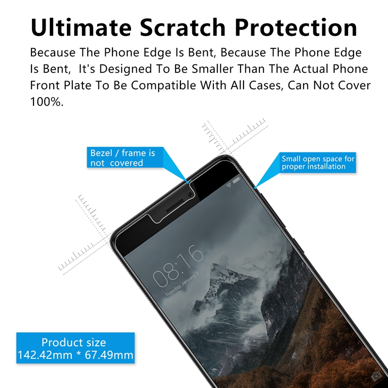 OriWood For Xiaomi Redmi Note 4 4X Anti-Spy Privacy Tempered Glass Screen  Protector For Redmi 4A 4X Pro Anti Spy Protective Film