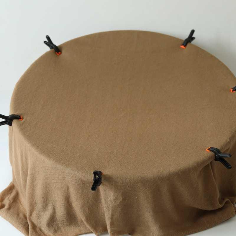 2019 New 150X165 cm Sơ Sinh Đạo Cụ Chụp Ảnh Lưng Đeo Bộ Bé Nền cho Ảnh Phòng Thu Mới Sinh Móc đan Bọc