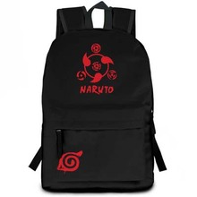 Naruto backpack Uzumaki Naruto Cosplay Bags Anime Nylon Cartoon Schoolbags
