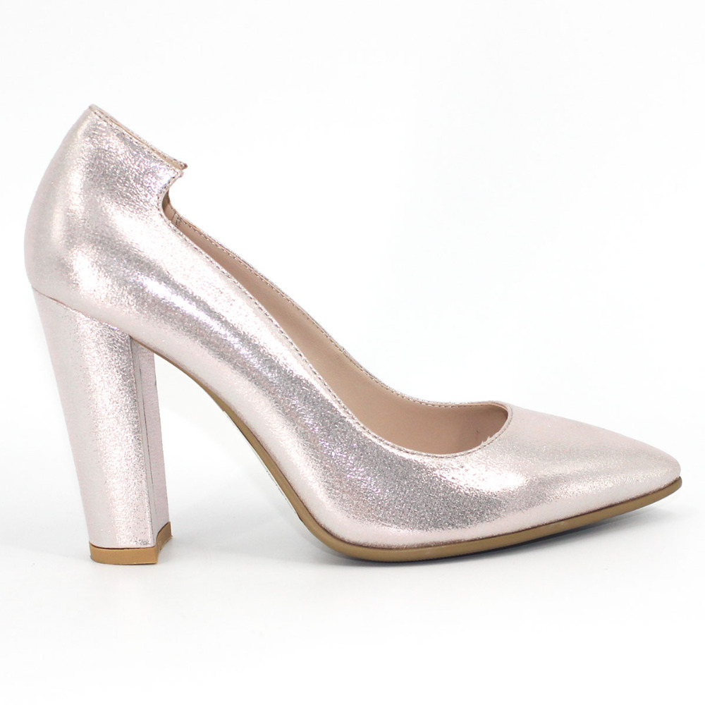 Silver Shoes Women Fashion Pointed Toe Super High Heel Pumps 2018 Party Ladies Square Heel Shoe Slip On Dance Glitter Shoes xiaying smile summer women sandals casual fashion lady square heel slip on flock shoes pointed toe cover heel lace bowtie shoes