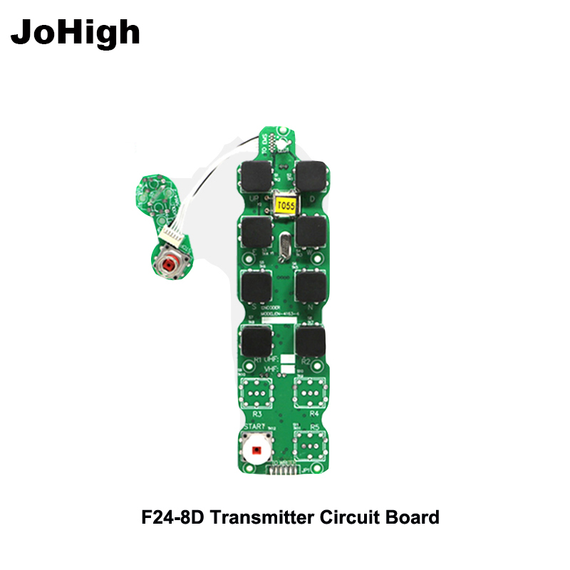 JoHigh Provide Industrial Wireless Remote  Transmitter circuit board F24-8D Transmitter UseJoHigh Provide Industrial Wireless Remote  Transmitter circuit board F24-8D Transmitter Use