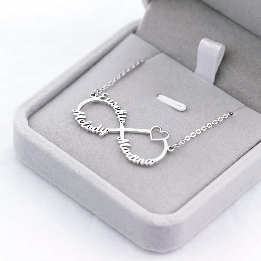 406e704577e6 De la abuela collar barra de oro grabado nombre colgante collar delicado de  las mujeres personalizado