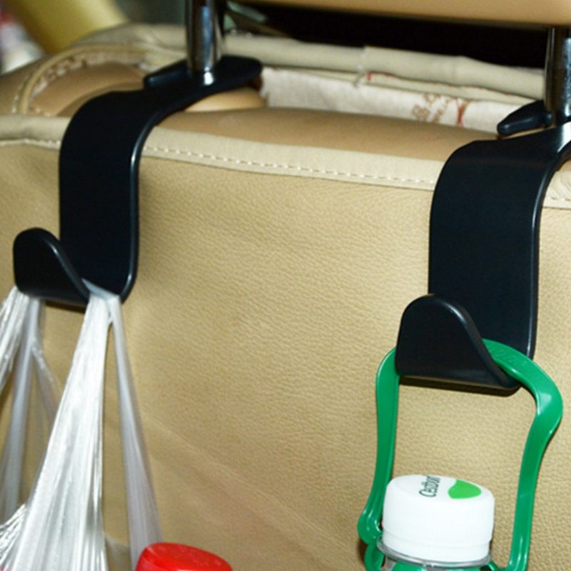 Headrest-Hanger Groceries-Bag Back-Seat Universal Car 2pcs SUV for Handbag Storage-Hooks