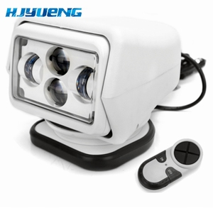 """Image 4 - For 4X4 Marine Camping Boat Headlight 12v 24v led searching light 7inch 7"""" 60W LED Remote Control Searchlight LED Spotlight"""