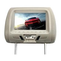 7 Inch Support Player Car LED Screen Digital Built In Speaker Multi Media Seat Back Video Headrest Monitor Universal USB Camera