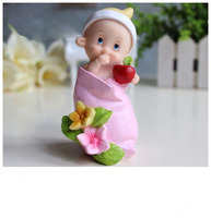 Cartoon dolls silicone mold bag baby soap mold wedding candles soap molds birthday present furnishing articles silicone mold