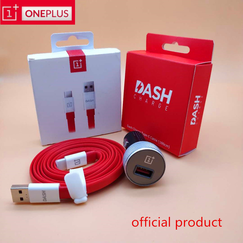 Original Oneplus Dash Car Charger 6 6T 5t 5 3t 3 one plus smartphone QC 3.0 quick charge Fast Charging usb 3.1 Type C Cable|Car Chargers| |  - title=