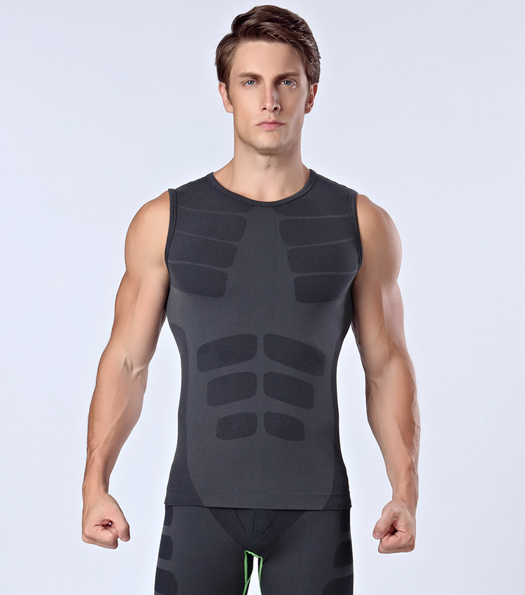 men sleeveless vest tank tops for fitness excise tight compression shirts  MA16-in Tank Tops from Men s Clothing on Aliexpress.com  c1dffc3453a6