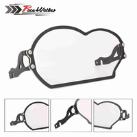 FREE SHIPPING Motorcycle Front Lamp Holder Transparent Steel Plastic ABS Front Cover For BMW R1200GS 2005
