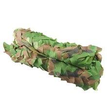Бесплатная доставка Камуфляжный сетчатый камуфляж 2*3 м солнцезащитный укрытие жалюзи в джунглях автомобильные чехлы для охоты кемпинга военный наружный