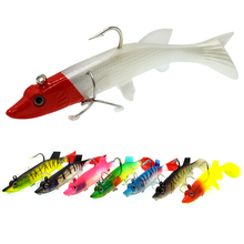 WLDSLURE  1Pc 27g/12cm Soft Lead Fish Sea Fishing Lures Bait Artificial Jig Wobblers Rubber Silicon Bass Lure