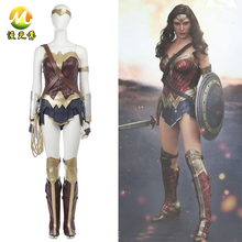 Super Hero:Dawn of Justice Wonder Woman Cosplay Costume for Halloween Party Set