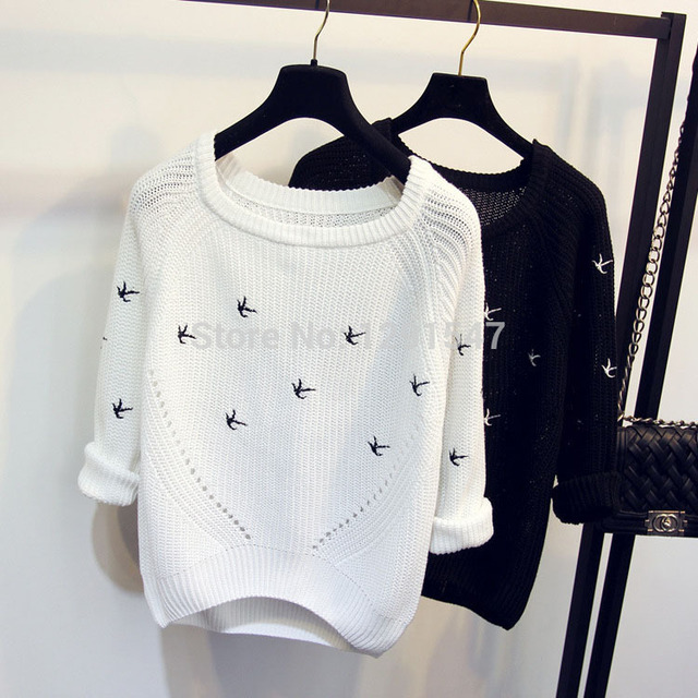 2016 Nova Moda Outono Inverno Camisola das mulheres De Alta qualidade Blusas Casuais Mulheres Femininas Blusas Malhas Jumper Pullovers Soltos