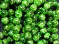 Free Shipping  (44 beads/set/39g) natural 7.8-8.3mm green chrome diopside smooth round  loose strand beads stone wholesale