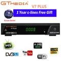 100% оригинал GTMEDIA V7 PLUS DVB-S2 DVB-T2 спутниковый ТВ комбо приемник H.265 + Испания Италия Польша Cccam 5 Cline PK V7S декодер формата HD