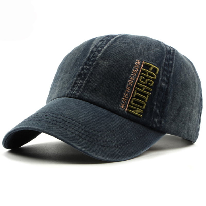 deb141719cc Aliexpress.com   Buy HT1181 High Quality Washed Canvas Baseball Caps Men  Women 6 Panels Dad Hats Embroidery Letters Snapback Caps Black Baseball Hats  from ...