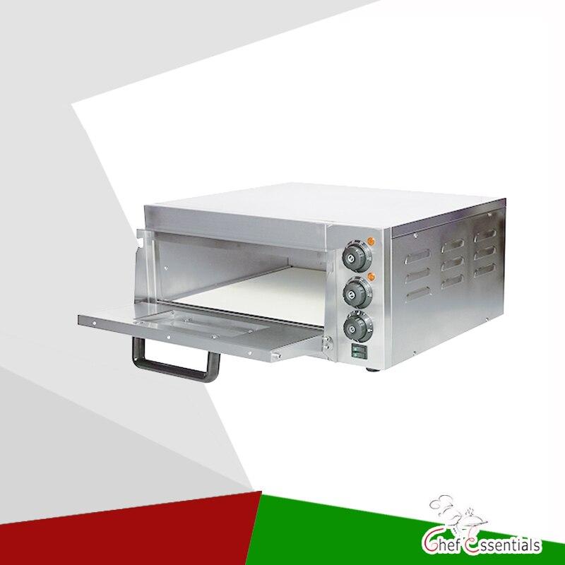 PFKS PC01A печь для пиццы из нержавеющей стали с камнем и освещением электрическая ГРМ 350 градусов водонепроницаемый выключатель питания оборуд...