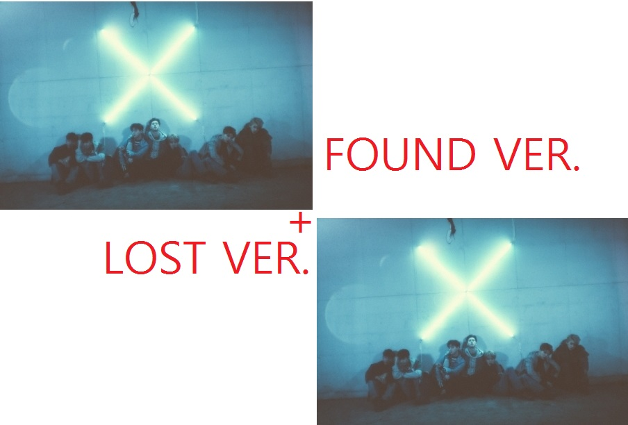 sw or v 3 the lost suns MONSTA X - 3RD MINI ALBUM - THE CLAN 2.5 PART.1 LOST -   LOST VER. + FOUND VER. RELEASE DATE 2016.05.18 KPOP