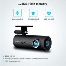 In Magazzino! XiaoMi 70Mai 70 Minuti Smart Car DVR RU/EU/US Versione 1080 P Senza Fili Dash Cam 130 Gradi ampio Angolo di IMX323 VoiceControl