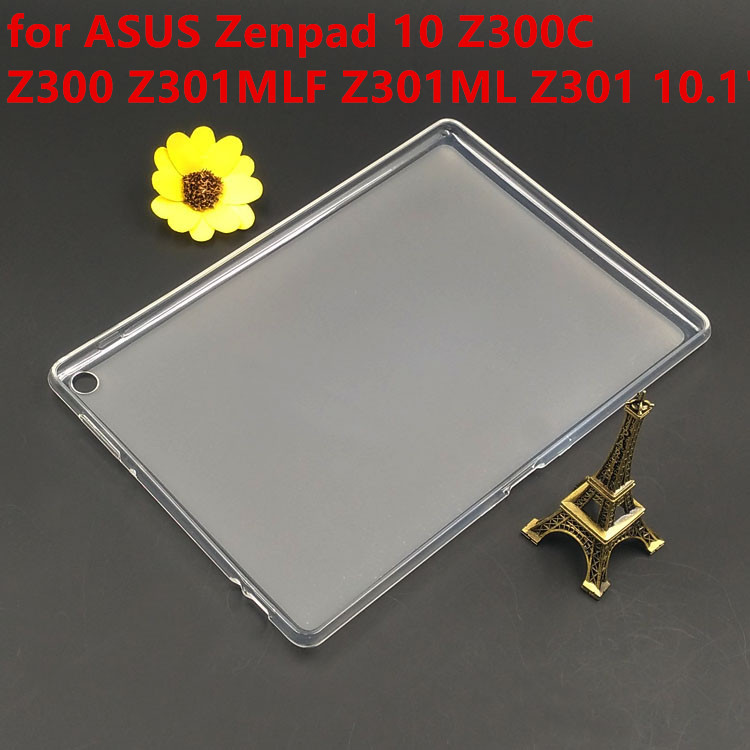 Ultra-thin Matte Soft TPU Back Case for ASUS Zenpad 10 Z300C Z300 Z301MLF Z301ML Z301 10.1 tablet case cover