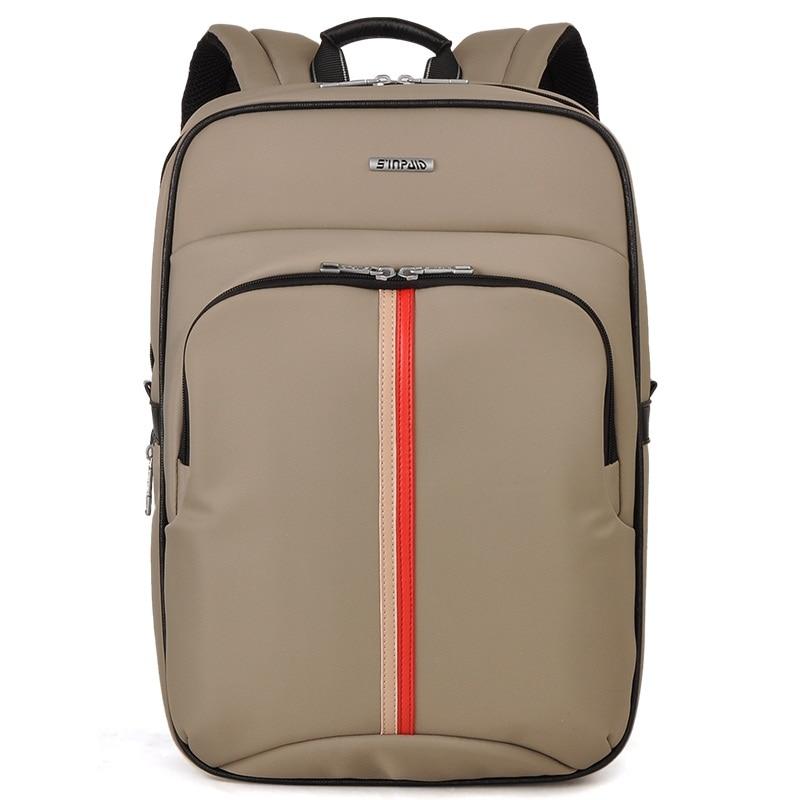 15.6 Inch Laptop Backpack SINPAID AD-15 Waterproof Oxford Shoulder Bag Vertical Computer Business Bag Large Capacity Travel Bag shanson