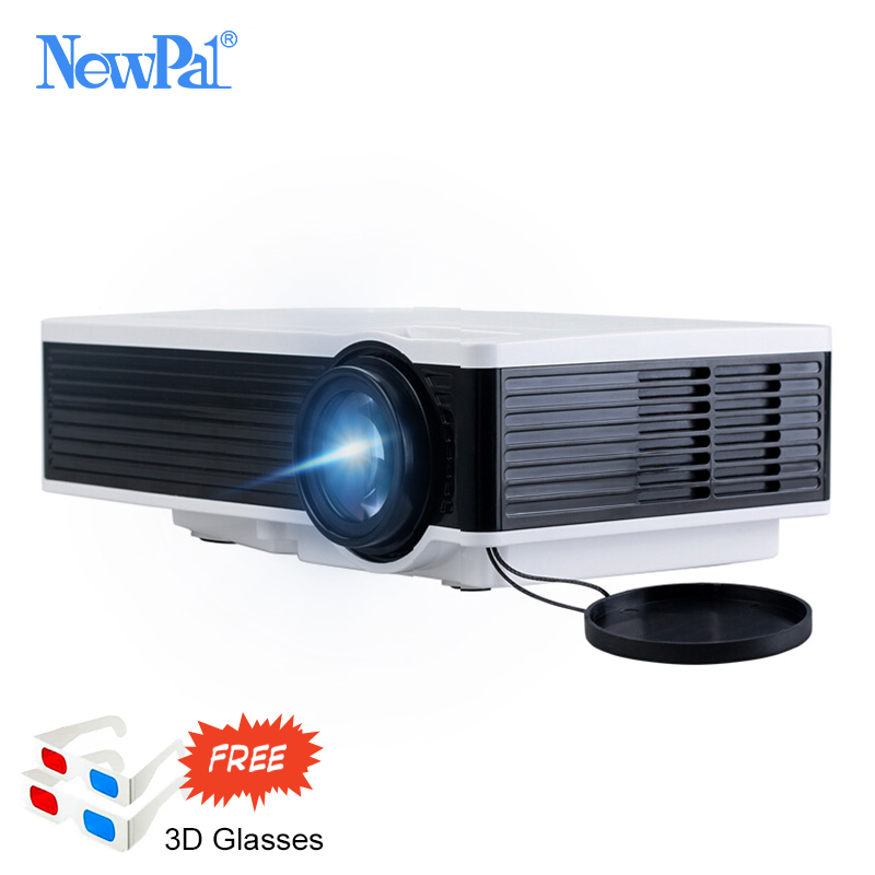 1000 Lumens LED Projector HD 1080P Pico Proyector With HDMI USB VGA Home Theater LED Beamer Projector cheap china digital 1000lumens hdmi usb home theater best hd 1080p portable pico lcd led video mini projector beamer proyector