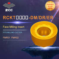 ZCC.CT lathe inserts RCKT for indexable profile milling tool FMR01 FMR02 for face milling indexable milling tools