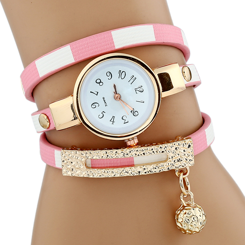 Gnova Platinum Women Luxury Gold Women s Bracelet Quartz Wristwatch Ladies Dress Female Leather Vintage Fashion