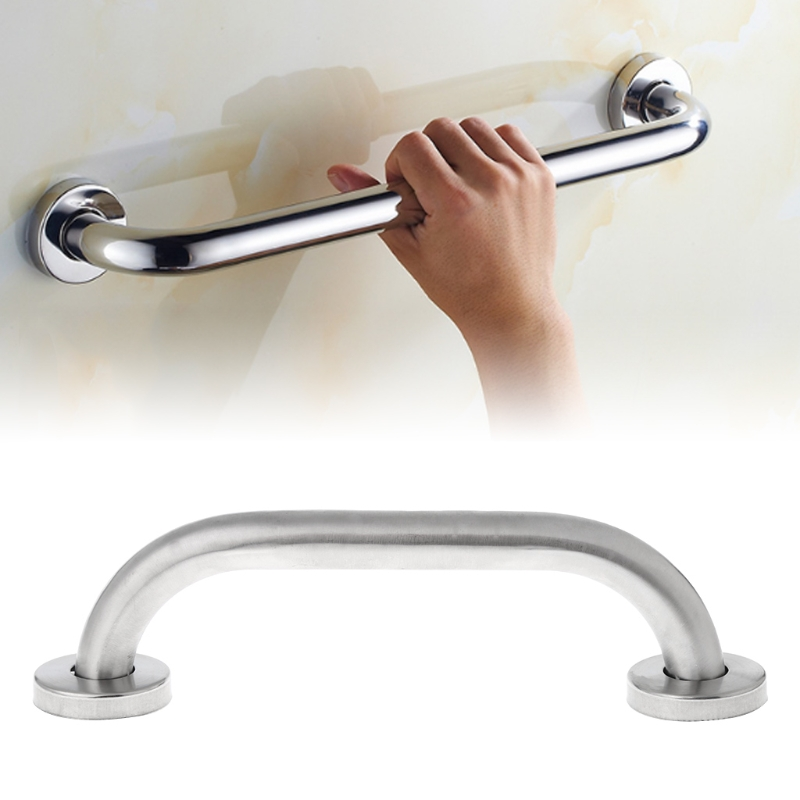 Bathroom Shower Tub Hand Grip Stainless Steel Safety Toilet Support Rail Disability Aid Grab Bar Handle
