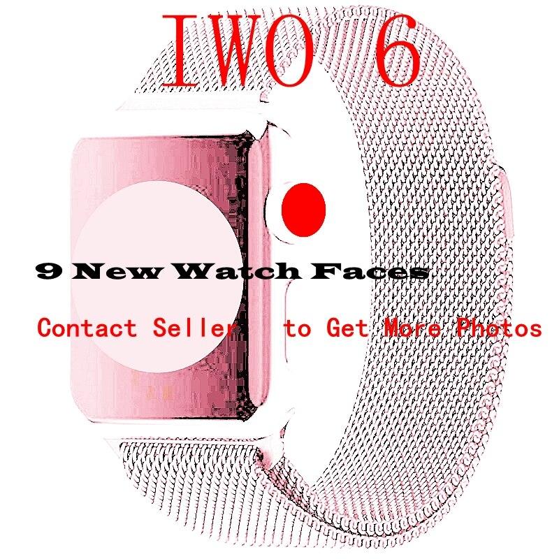 Bluetooth Smart Watch IWO 6 1:1 42mm SmartWatch Stainless
