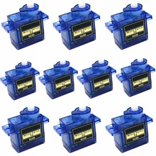10 x SG90 9g Mini Micro Servo for RC for RC 250 trex 450 Helicopter Airplane