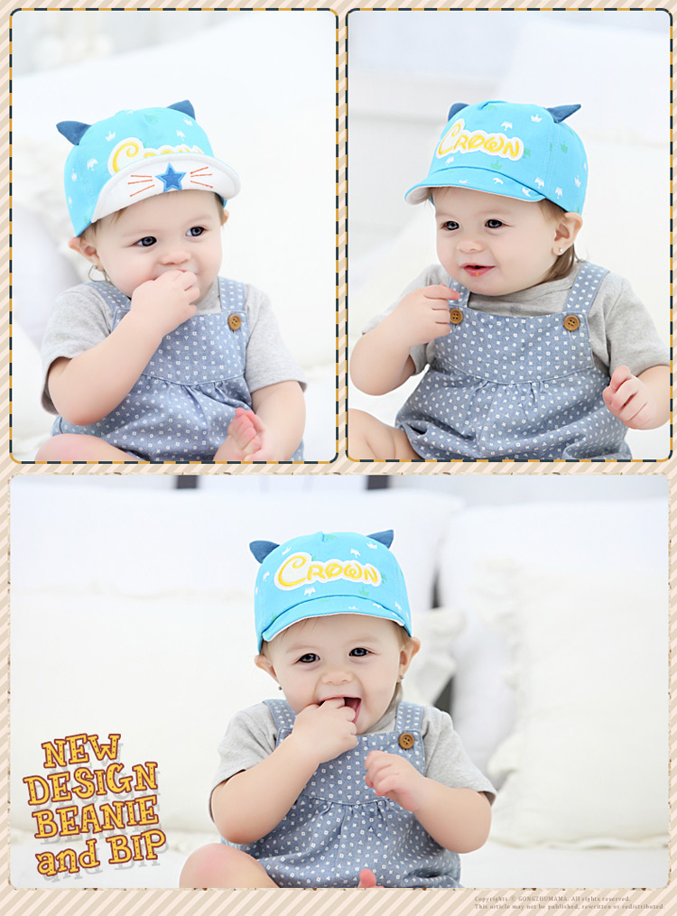 ae0a5dbd4a8 TDX C36 Baby spring and autumn hat baby cap 3 6 12 months old male ...