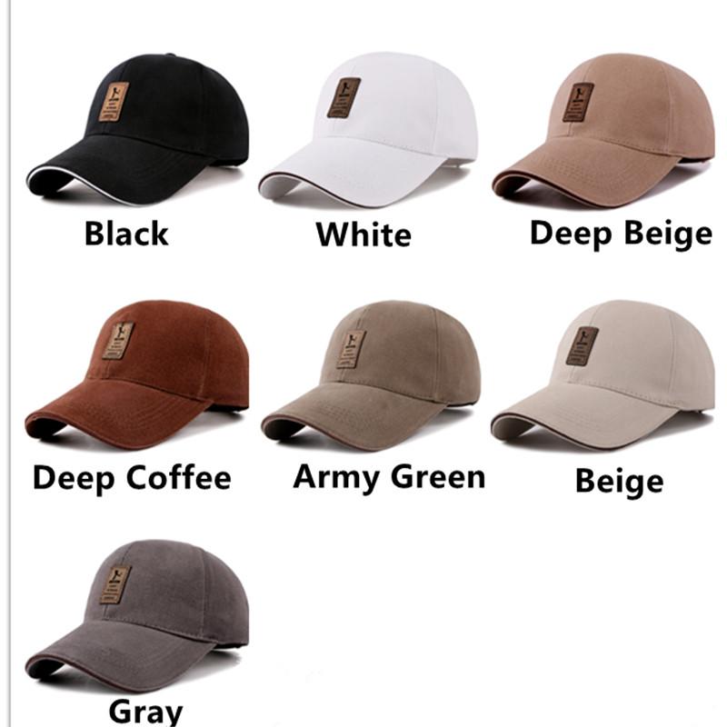 6df72a1614e wholesale 7 Colors Mens Golf Hat Basketball Caps Cotton Caps Men Baseball  Cap Hats for Men and Wome